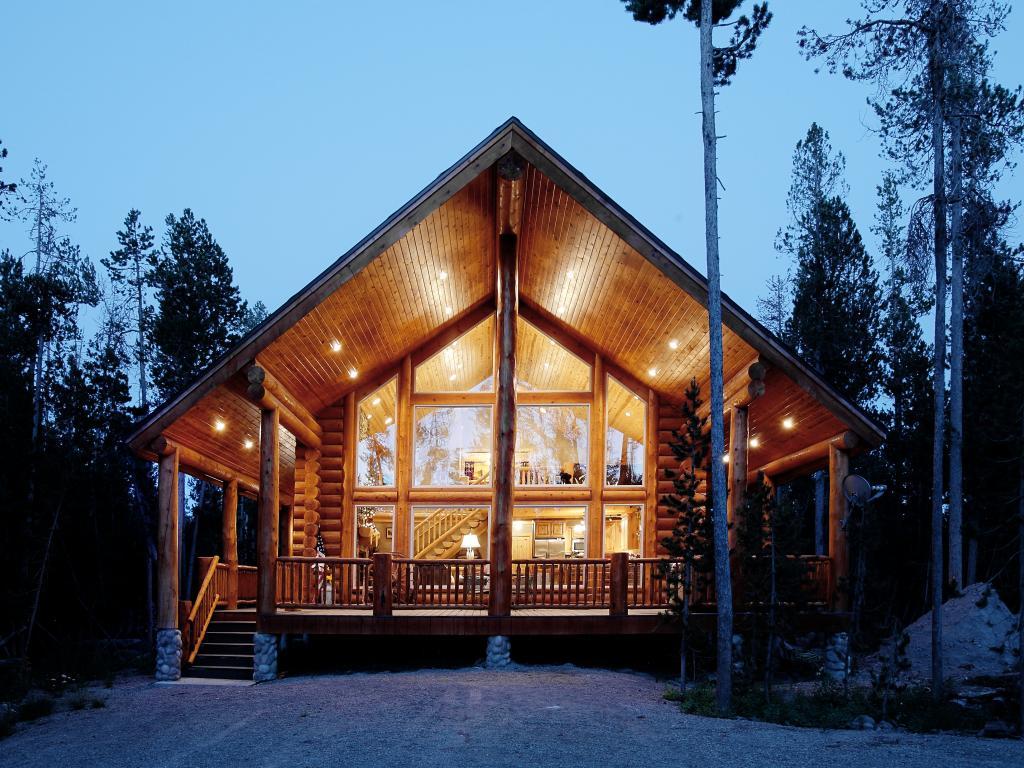 Log Homes | Haselton Lumber Company